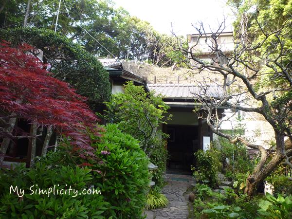 素晴らしい鎌倉の古民家、釘を一本も使っていない地震でもビクともしない木造