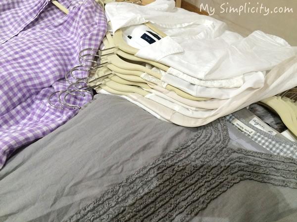 ファッション断捨離2 コーディネートに使える残す洋服は、ほんの少しだけだった