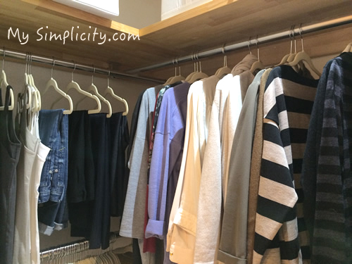 ファッション断捨離7:洋服全部見せ収納はミニマリスト的な生き方の為になるのか!?