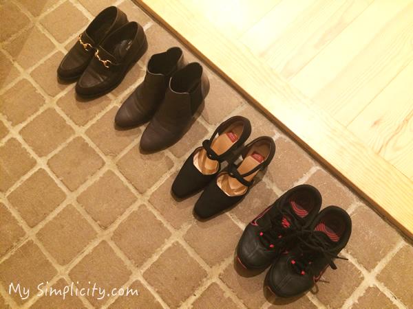 ファッション断捨離8:ミニマリストは靴を何足持ちたいのか!?