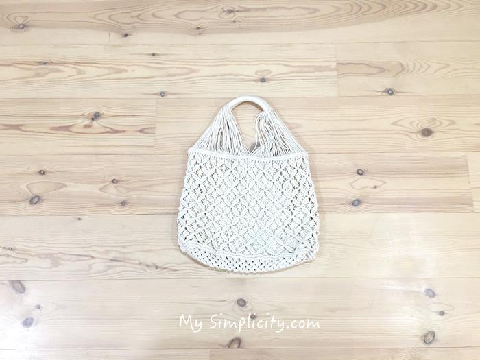 40代からの夏のバッグ、見つかりました♪コーディネートしやすい生成り色