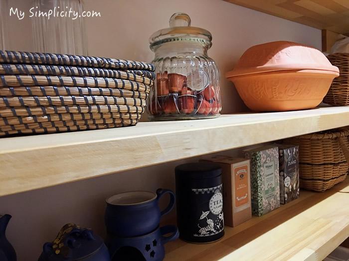 小さな食料倉庫パントリーは、主婦にとってのときめきスペース