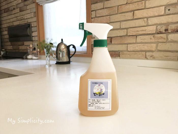 自然の洗剤「松の力」のかわりに助っ人現る!ドクトルバイオ