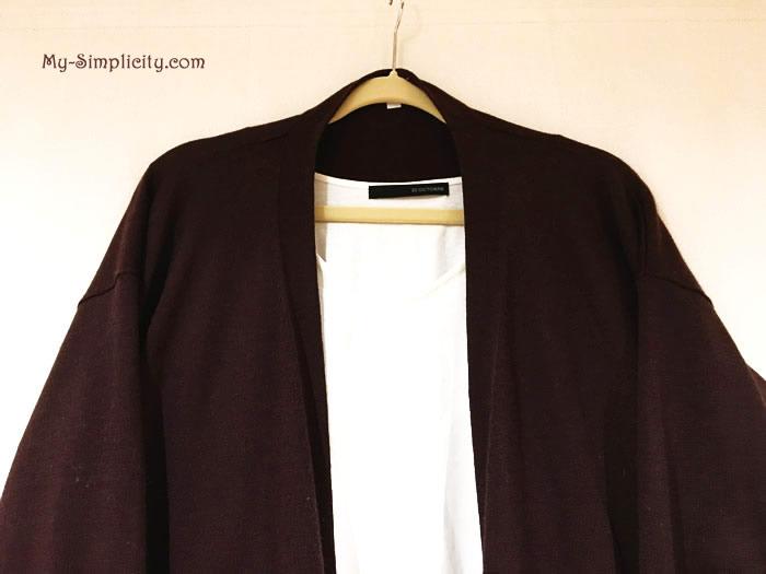 カプセルワードロープが決まったのに洋服を衝動買い!ミニマリストの失態