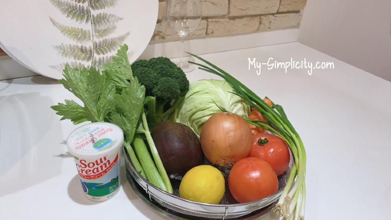 野菜をいっぱい食べて腸活したくなったらボルシチを作ろう